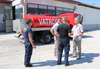 Primopredaja vatrogasnog vozila PVJ Gradačac