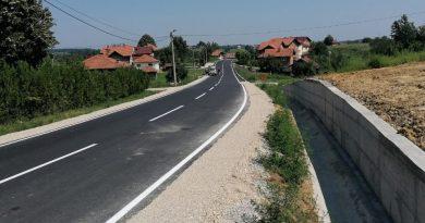 """Završena je rekonstrukcija regionalne ceste R-460 """"Gračanica-Bukva-Doborovci-Srnice"""""""