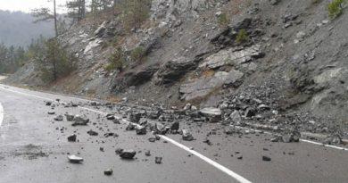 Vozači, oprez: Opasnost od odrona i smanjena vidljivost