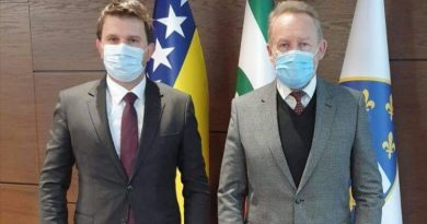 Bakir Izetbegović primio novog gradonačelnika Brčkog Eseda Kadrića