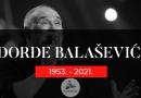TUŽNA Vijest   Umro Đorđe Balašević